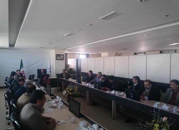 برگزاری جلسه شورای فنی استان
